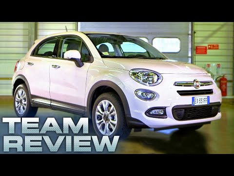 The Fiat 500X Team Review Fifth Gear