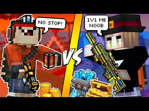 BULLY THOUGHT HE'S GOOD IN PIXEL GUN 3D, I TAUGHT HIM A LIFE LESSON INSTEAD..(RAGE QUIT)
