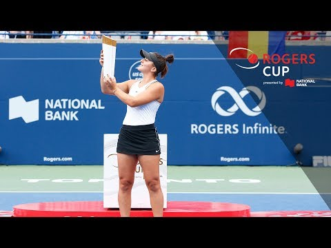 PRESS CONFERENCE: Bianca Andreescu - Rogers Cup Final Toronto 2019