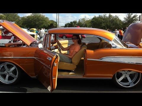 Auto Show Clearwater January 2014 \ Antique cars video