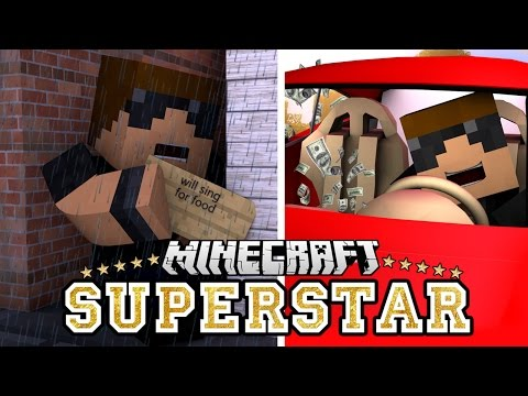 Rags to Riches | Minecraft Superstar [S2: Ep.1 Minecraft Roleplay Adventure]