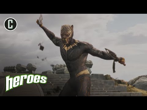 Black Panther: The Revolution Will Be Live - Heroes