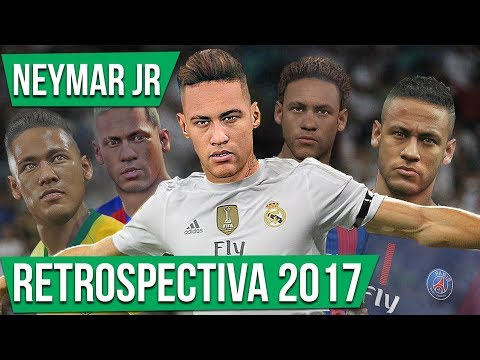 NEYMAR NO REAL MADRID??  RETROSPECTIVA   PES 2018
