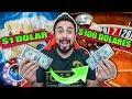 Juego con solo 1 dolar y veo cuanto puedo reunir | Casino challenge #1