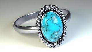 Создание кольца в Blender