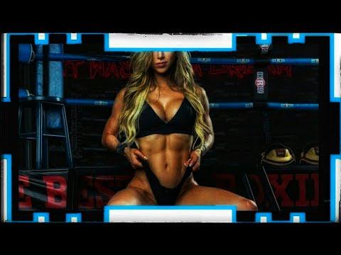 [Muscle training girls] The strongest abdominal girls beautiful Angela Sagra/ female muscle