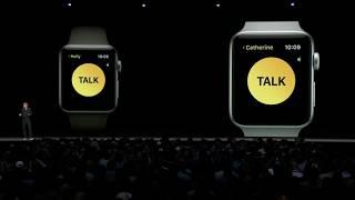 Apple Watch gets Walkie-Talkie mode