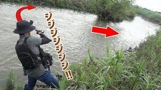 きなスンコンビで川のシーバスを狙う‼そしてまさかのヒットにきなさん成すすべも無く… □サブチャンネル「いろはのいろは」 https://www.youtube....