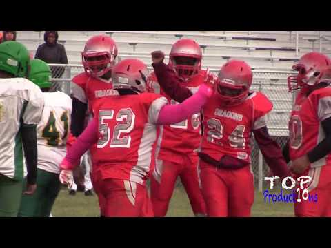 Akron East Middle School Highlights against Firestone Akron Middle School Playoffs