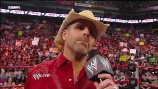 Shawn Michaels Final Farewell Speech - Part 1
