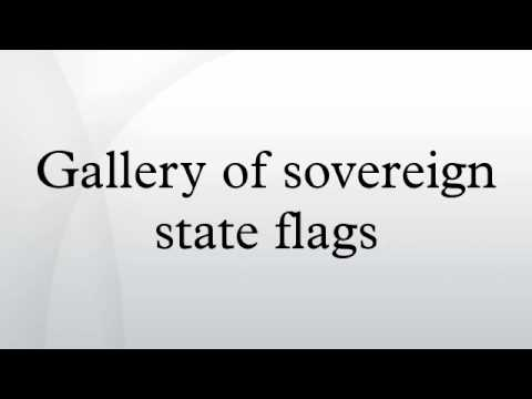 Gallery of sovereign state flags