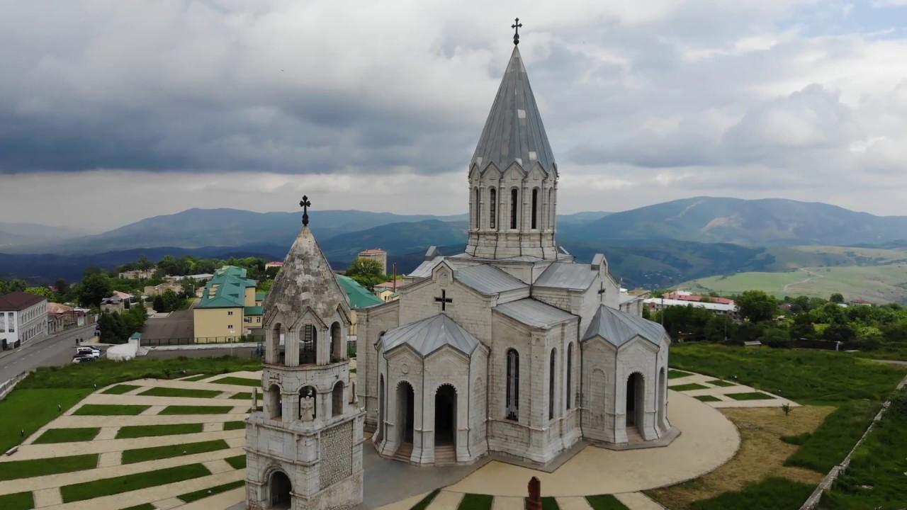 Ghazanchetsots Cathedral / Սուրբ Ամենափրկիչ Ղազանչեցոց մայր տաճար - YouTube