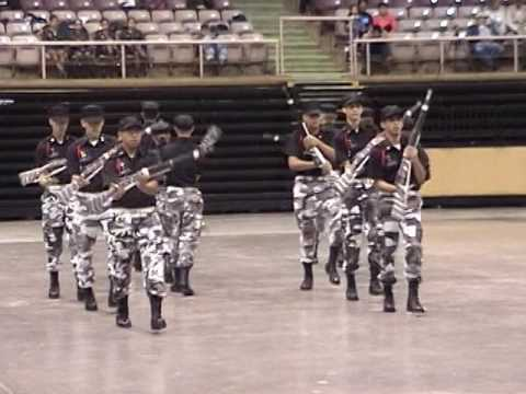 Colorado State Drill Meet 2006 - South High School - Drill Team Exhibition W/Arms
