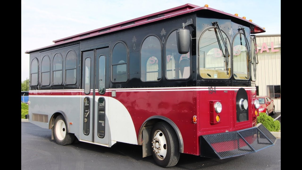 '07 American Classis Trolley | Sawyers Bus Sales - Used Buses For Sale