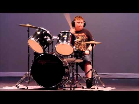 2016 Luiseno Elementary School Talent Show: Emperor's New Clothes Drum Cover