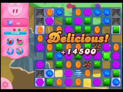 Candy Crush Saga Level 2906 - NO BOOSTERS