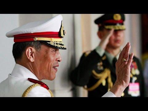 Crown prince Maha Vajiralongkorn heir to the Thai throne