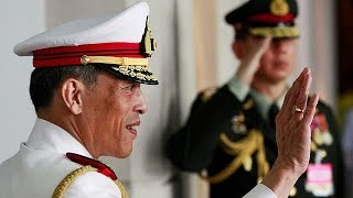 Repeat youtube video Crown prince Maha Vajiralongkorn heir to the Thai throne