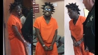 Kodak Black Gets his 3 Most serious charges dropped (Gun posession and Theft)