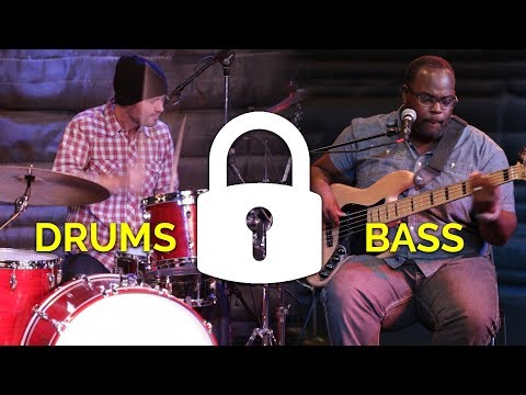 """Locking in"" as the Rhythm Section 