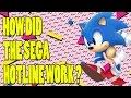 How Did The Sega Hotline Actually Work? - Top Hat Gaming Man