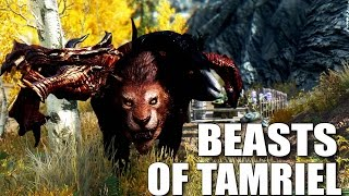 Skyrim Mods: BEASTS OF TAMRIEL