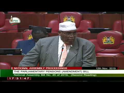 The National Assembly, 12th Nov 2019, live proceedings.
