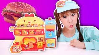 DALNIMI漢堡店玩具【做漢堡遊戲】基尼