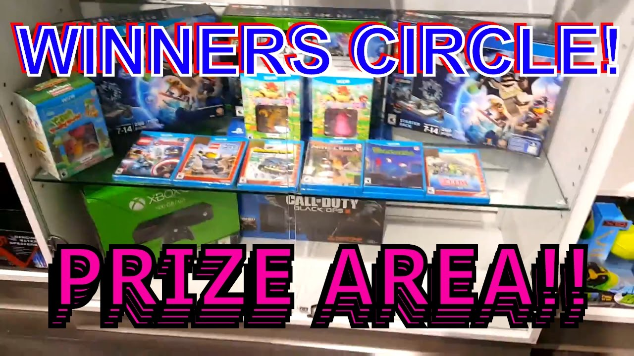 Dave and busters prizes xbox