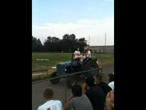 West Lincoln high school tractor parade 2010