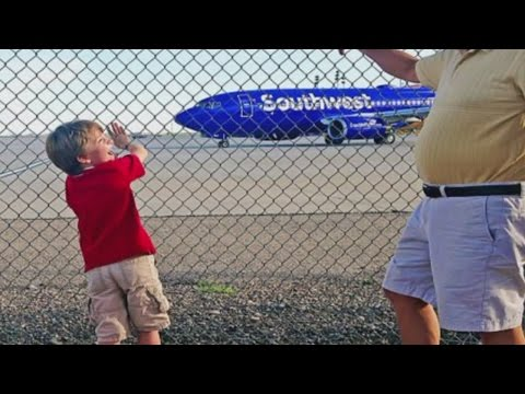 Pilot inspires Albuquerque boy by waving back