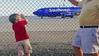 Pilot inspires Albuquerque boy by waving back