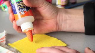 Fabric Decorating & Painting Techniques : Fun & Decorative Crafts