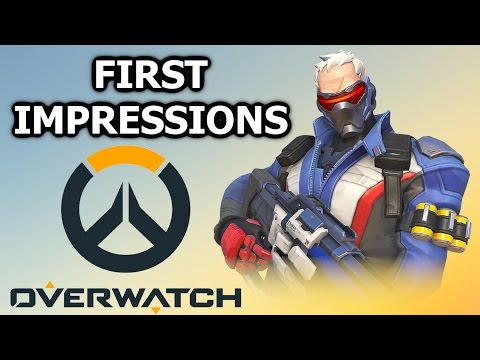 My thoughts on the Overwatch Beta - Does the game have substance? (Soldier 76 Gameplay)