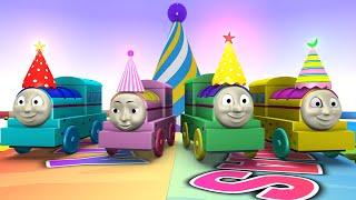 Happy Birthday Thomas - Thomas The Train - Choo Choo Train - Toy Factory Cartoon Train for Kids