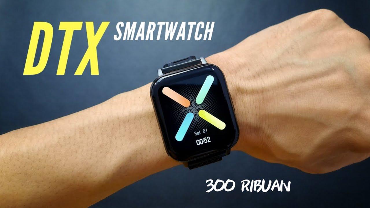 SMARTWATCH MURAH, LAYAR BESAR CUMA 300ribuan - DTX SMARTWATCH