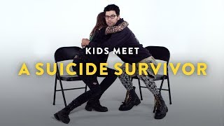 Kids Meet a Suicide Survivor | Kids Meet | HiHo Kids