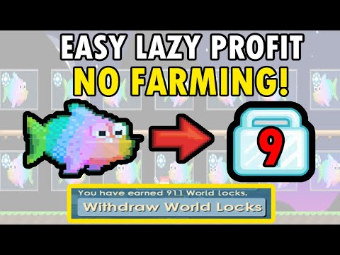 how-to-get-rich-with-fish-training!-easy-lazy-profit!-no-farming!-|-growtopia