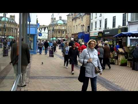 Town Centre, Mansfield, Nottinghamshire.