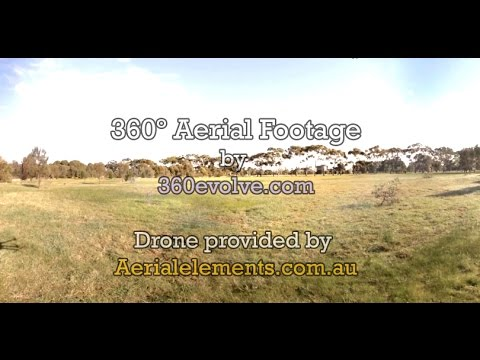 First Drone Flight - 360 Immersive Video (Adelaide)