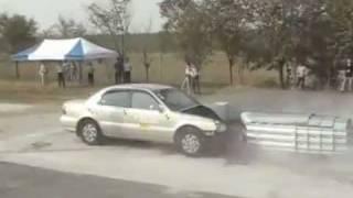 A1 Highways Crash Cushion Test Thumbnail