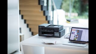 Brother MFC-T910DW wireless 4-in-1 colour inkjet printer overview