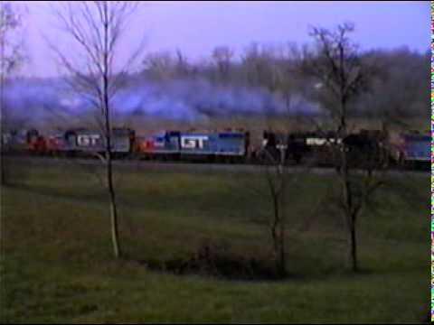 Grand Trunk Western 8 locos