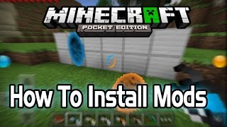 0 9 2 how to install mods in minecraft pe pocket edition android