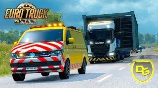 « Achtung! Schwerlast! » - Euro Truck Simulator 2 Schwerlast DLC #1 - Daniel Gaming