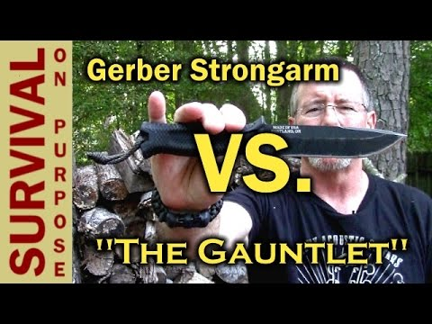 Gerber Strongarm vs Prodigy – A Gauntlet Knife Review