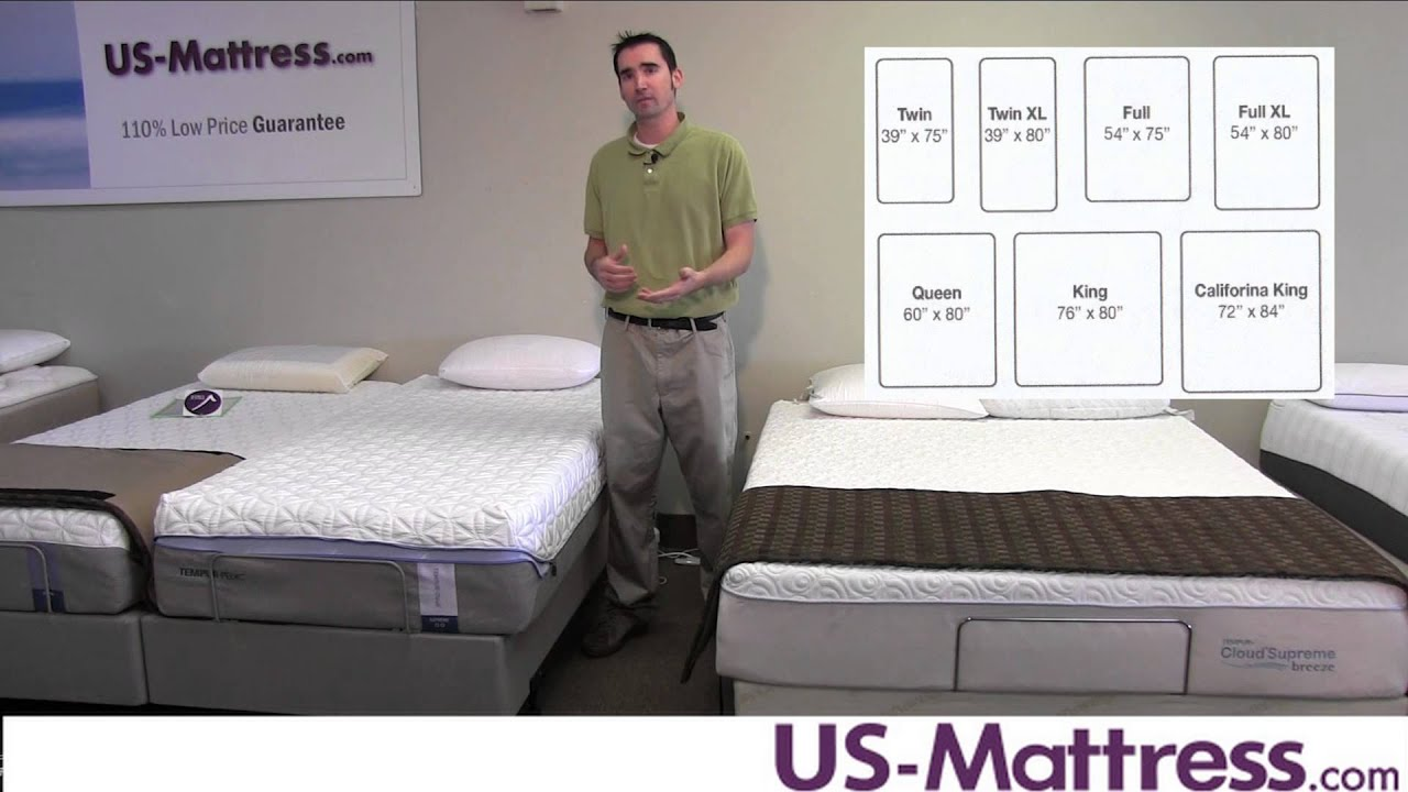 Mattress Sizes What Are The Different Dimensions Youtube