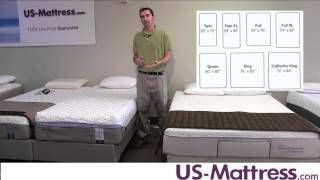 what are the different mattress sizes?