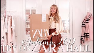 ZARA Autumn 2019 Try On Haul! ~ Autumn Fashion Edit ~ Freddy My Love