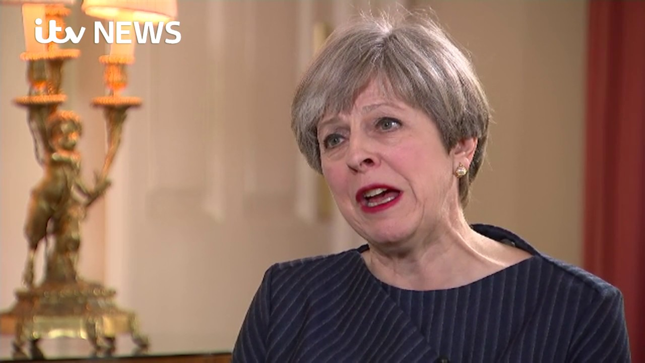 theresa s exclusive interview after calling for a general theresa s exclusive interview after calling for a general election